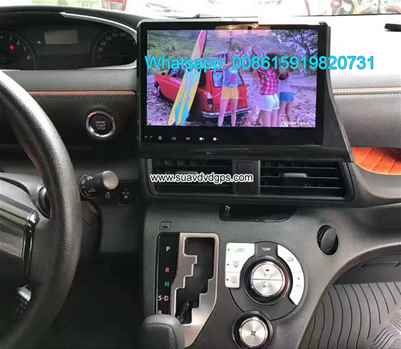 Toyota Sienta car update audio radio android wifi GPS camera