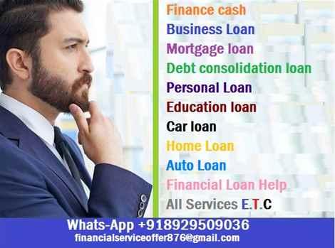 Do you need a financial help