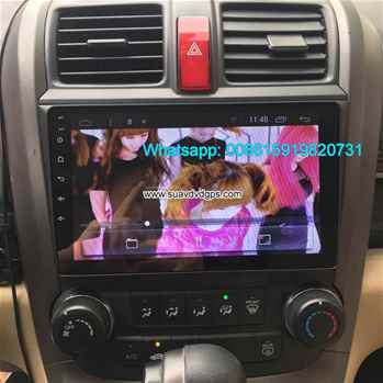 Honda CR-V CRV Android Car Radio GPS WIFI navigation camera parts