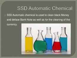 PURE SSD CHEMICAL SOLUTIONS THAT CLEANS BANK BLACK MONEY