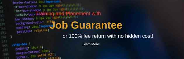Software Training and Job Placement