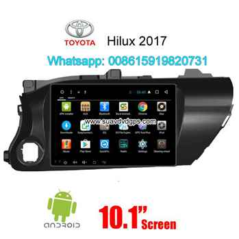 Toyota Hilux 2017 radio Car android wifi GPS navigation camera