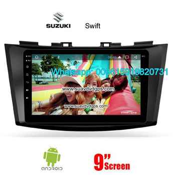 Suzuki Swift Car audio radio update android GPS navigation camera
