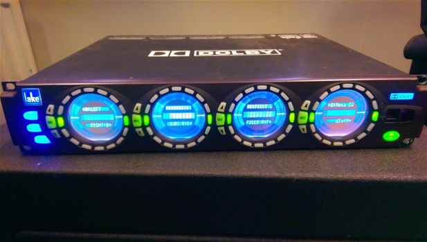 DLP Dolby Lake Processor LP4D12 4in 12Out