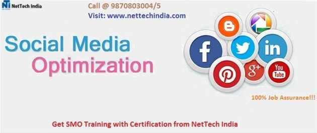 Social Media Optimization SMO Training Course  NetTech India
