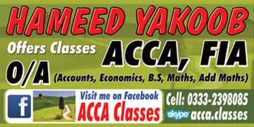 Accounts Teacher ONLINE WhatsApp923332398085 Skype acca.classes