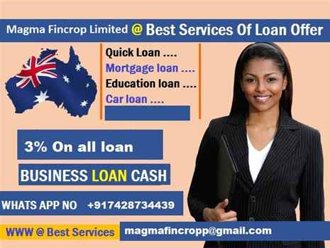 We offer the best conditions for loan
