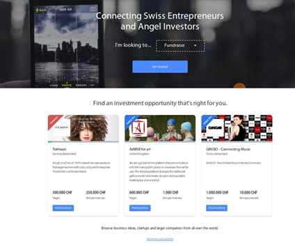 Submit a proposal and help you find an investor in Switzerland.