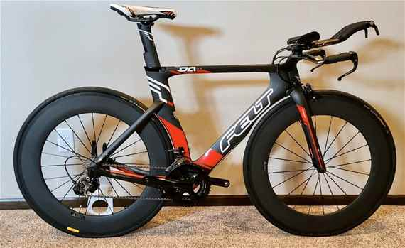 FELT DA1 TTTriathlon Bike Carbon Wheelset Ultegra Size 51 small