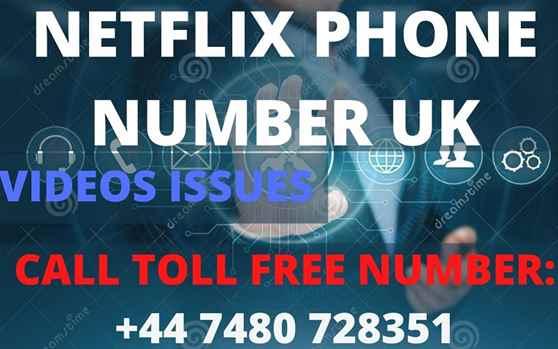NETFLIX PHONE NUMBER UK 44 7480 728351