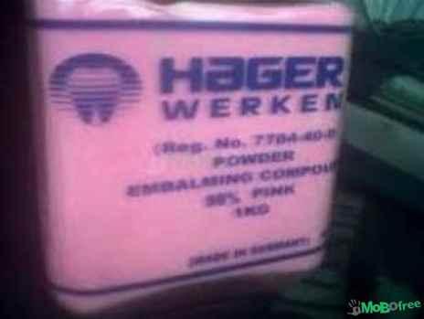 S HAGER WERKEN 27638250062  EMBALMING POWDER in Gauteng