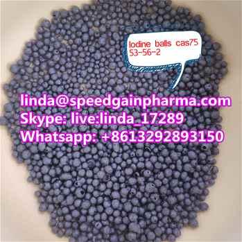 Sell Iodine balls  Iodine black crystals cas7553-56-2 lindaspeedgainpharma.com