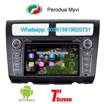 Perodua Myvi Android Car Radio WIFI DVD GPS navigation camera