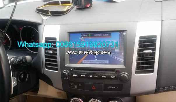 Peugeot 4007 Android Car Radio DVD GPS WIFI multimedia camera