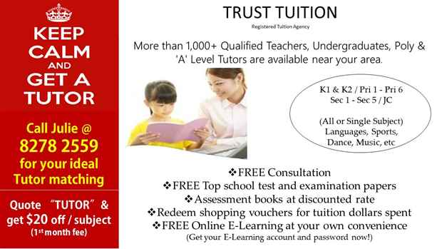 Home Tutors in Singapore