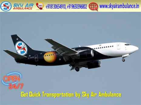 Book ICU Setup Air Ambulance Service in Jammu with ICU Specialist Doctor