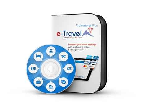 e-Travel Professional Plus ETP 2.2 Online Tour Booking Software