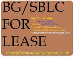 Bg,sblc,mtn,finance loans available for lease