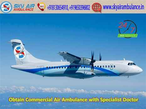 Pick Air Ambulance Service in Madurai with Superlative ICU Facility