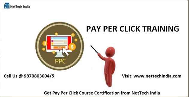 PPC Training and Certification  Pay Per Click Course  NetTech India