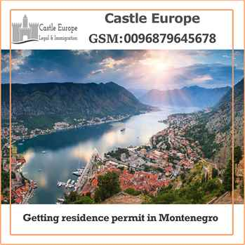 Getting residence permit in Montenegro