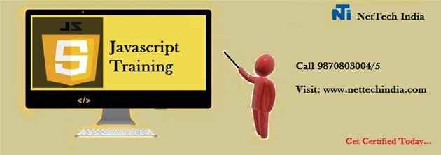 Javascript Course Training  Javascript Institute  NetTech India