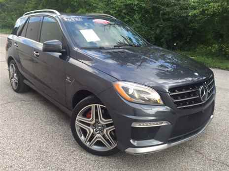 Mercedes Benz ML 63 AMG 2014