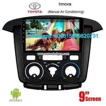 Toyota Innova auto radio GPS android