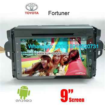 Toyota Fortuner 2017 Android Car Radio DVD GPS WIFI camera